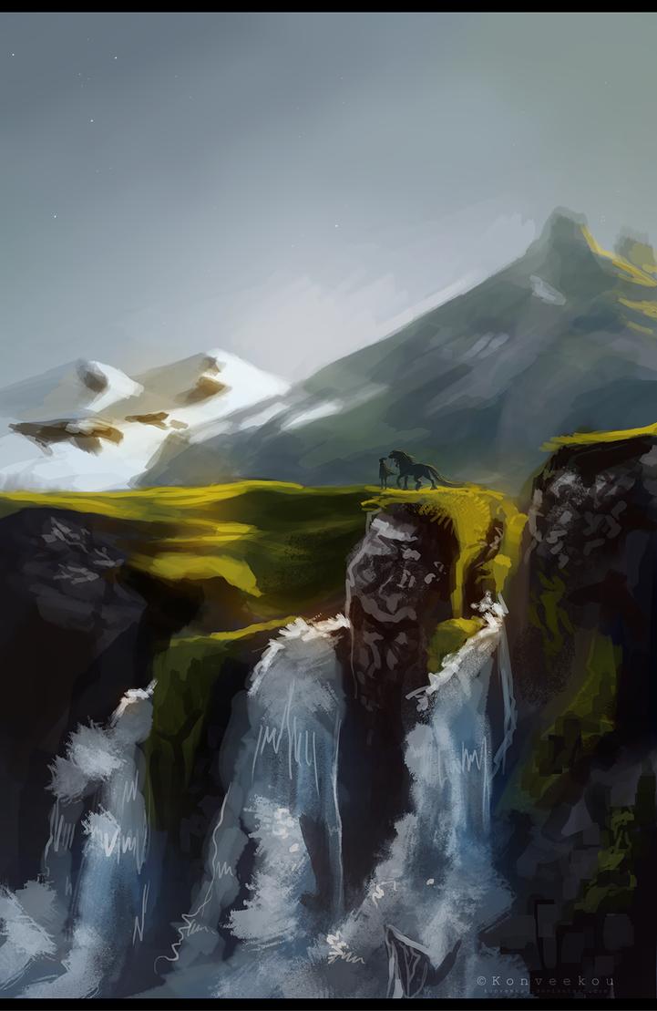 Waterfalls by Konveekou