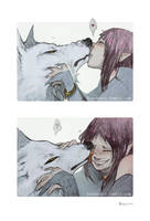 Wolf's Rain: Smooches by Konveekou