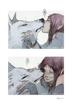 Wolf's Rain: Smooches