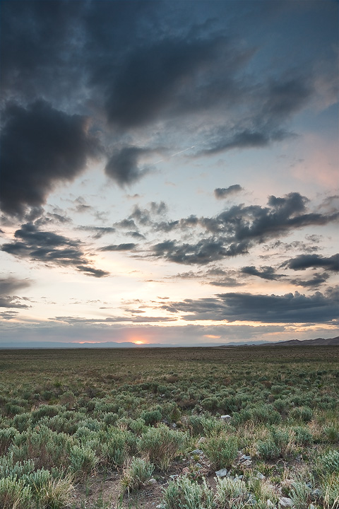 Desolate San Luis Valley by kennedmh