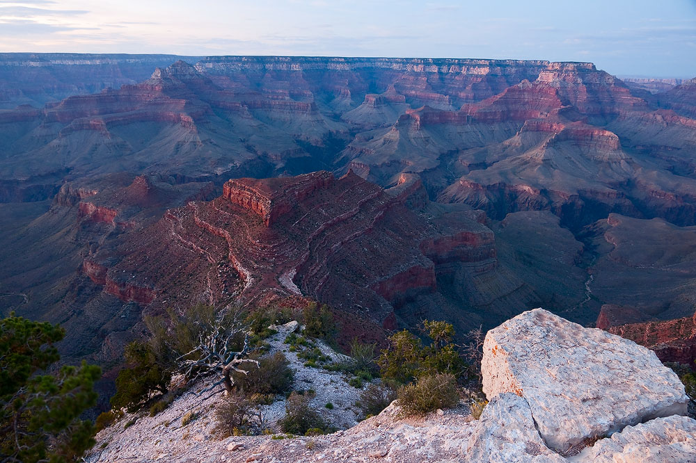Shoshone Point Sunset by kennedmh