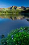 Clear Morning at Lake Irwin