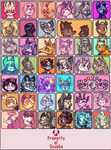 Toyhouse Icons: Regular Characters