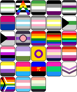 F2U PRIDE FLAGS (Updated 2020!)