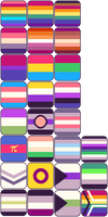 PRIDE FLAG ICONS [F2U] by Seyeba