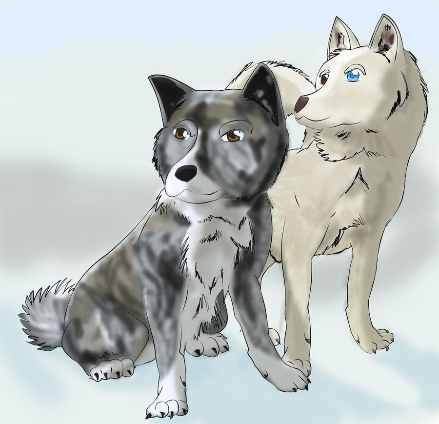 Abunai y Hikuro by SakuraAyanami
