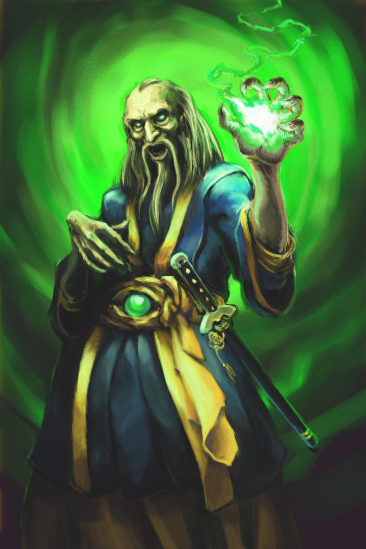 Mortal Kombat: Shang Tsung by rook-over-here