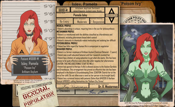 Arkham Files - Poison Ivy
