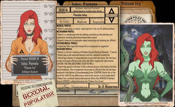 Arkham Files - Poison Ivy
