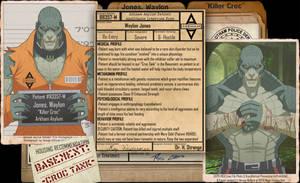 Arkham Files - Killer Croc by Roysovitch