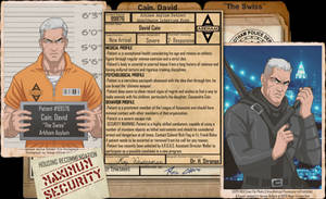 [Earth-27: Arkham Files] David Cain by Roysovitch