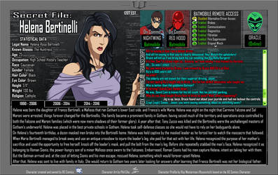 Oracle Files - Helena Bertinelli 1990-2006 by Roysovitch