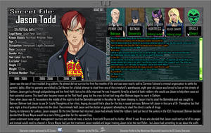 Oracle Files - Jason Todd 1990-2005 by Roysovitch