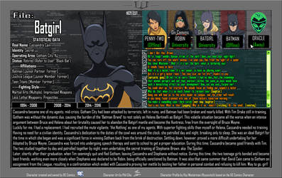 Oracle Files - Cassandra Cain 2008-2014 by Roysovitch