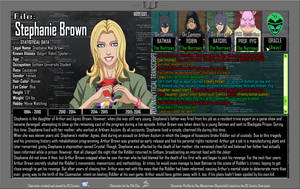Oracle Files - Stephanie Brown 1994-2010 by Roysovitch
