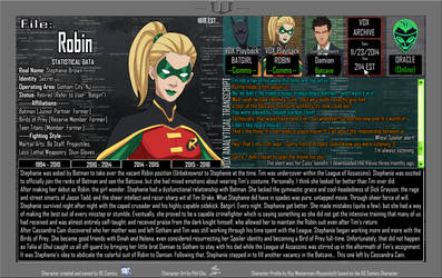 Oracle Files - Stephanie Brown 2014-2015 by Roysovitch