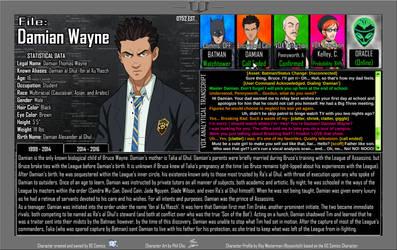 Oracle Files - Damian Wayne 1999-2014