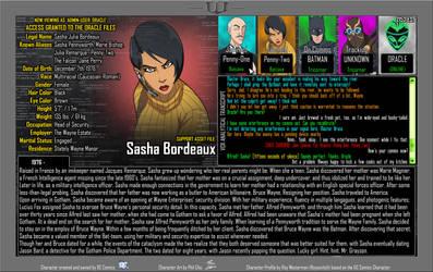 Oracle Files - Sasha Bordeaux [UPDATED]