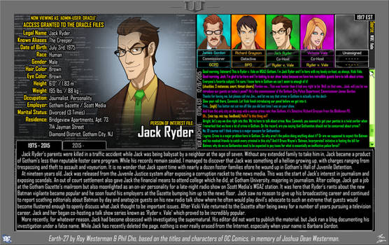 [Earth-27 Oracle Files] Jack Ryder (1/2)