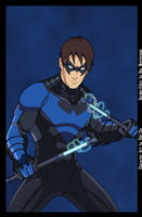 Earth-27 Nightwing [Stealth] by Roysovitch