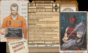Arkham Files - KGBeast by Roysovitch