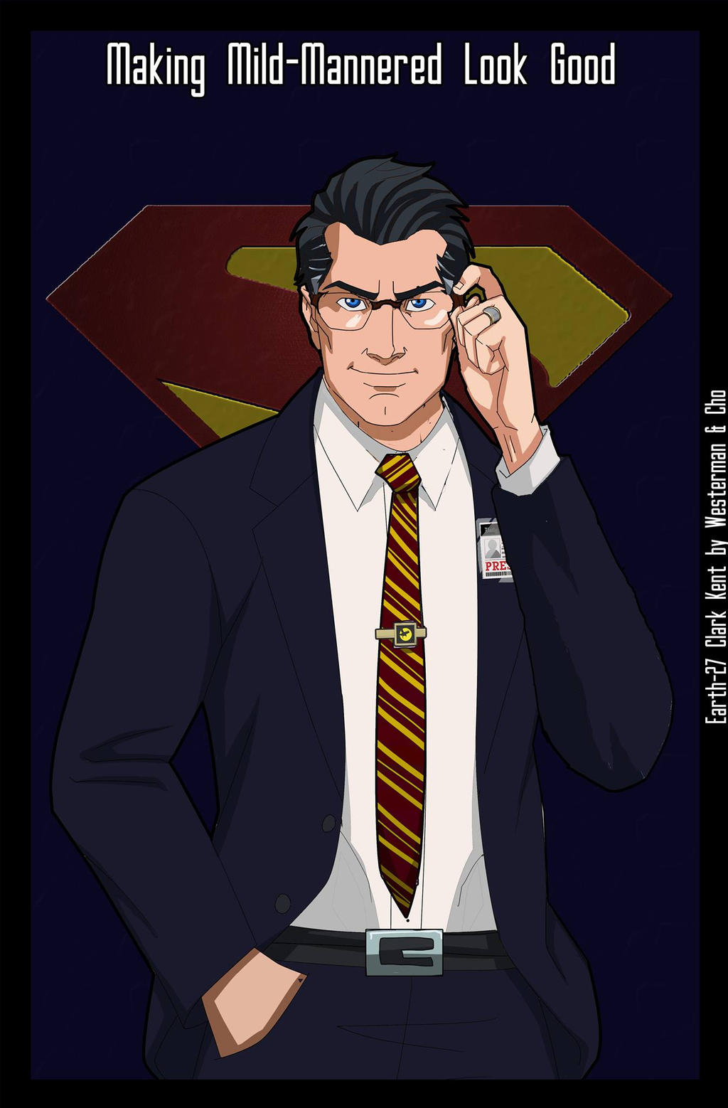 It's just a graphic of Mesmerizing Clark Kent Drawing