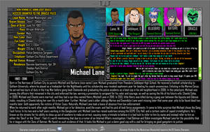 Oracle Files - Michael Lane by Roysovitch
