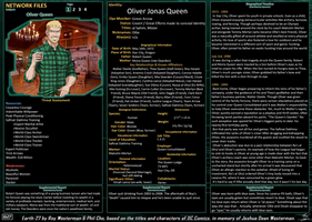 Network Files - Oliver Queen 1