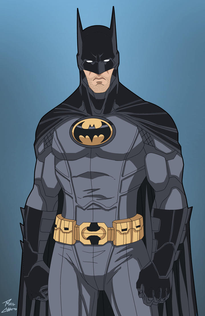 Batman (Earth-27) color edit by Roysovitch