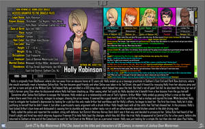 [Earth-27: Oracle Files] Holly Robinson (1/2) by Roysovitch
