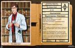 Arkham Employee File - Simon Hurt by Roysovitch
