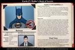 Waller's Journal - Batman by Roysovitch