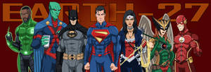 Animated Justice League (Earth-27 Style) by Roysovitch