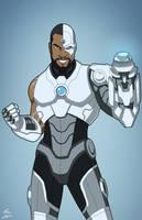 Earth-27 Cyborg [Overt] by Roysovitch