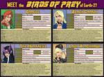 [Earth-27: Meet the Teams] Birds of Prey by Roysovitch