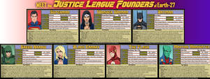 [Earth-27: Meet the Teams] Justice League Founders