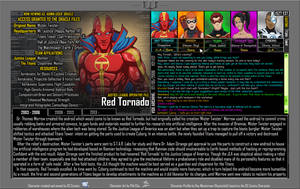 [Earth-27: Oracle Files] Red Tornado (1/3) by Roysovitch