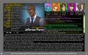 [Earth-27: Oracle Files] Jefferson Pierce (1/2) by Roysovitch