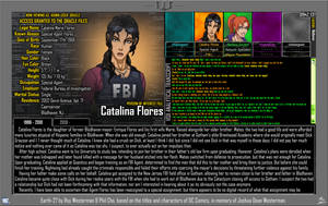 [Earth-27: Oracle Files] Catalina Flores (1/2) by Roysovitch