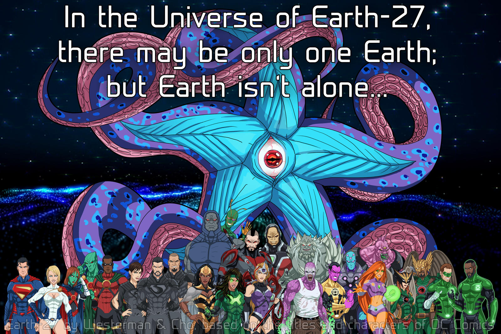 Earth-27 is more than just Earth alone by Roysovitch