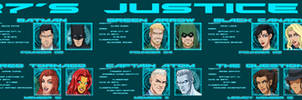 [Earth-27 Rosters] The Justice League (W.I.P.)