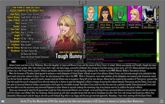 [Earth-27: Oracle Files] Tough Bunny