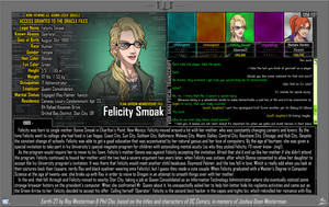 [Earth-27: Oracle Files] Felicity Smoak by Roysovitch
