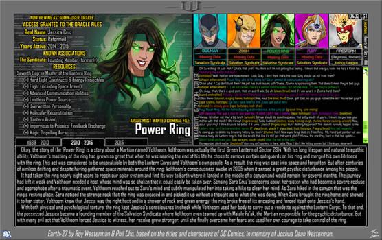 [Earth-27: Oracle Files] Jessica Cruz (Pg 2/3)