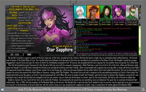 [Earth-27: Oracle Files] Carol Ferris (2/2) by Roysovitch