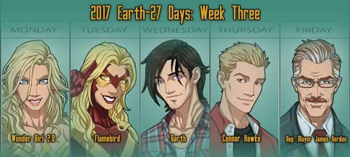 E27 Days Week Three [COMPLETE]