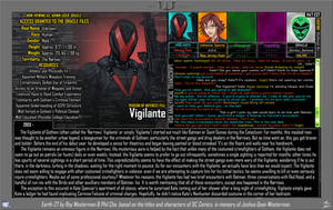 [Earth-27: Oracle Files] The Vigilante by Roysovitch