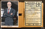 Arkham Employee File - Quincy Sharp by Roysovitch