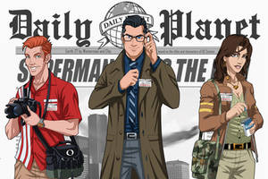 Earth-27's Best News Team by Roysovitch