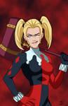 Unmasked - Harley Quinn